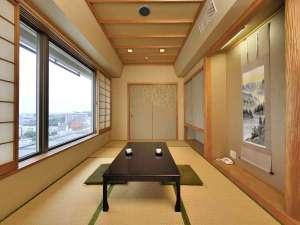 【ジャパニーズスイート61㎡】館内に1室のみ5名様までご利用可能な和洋室スイートルーム