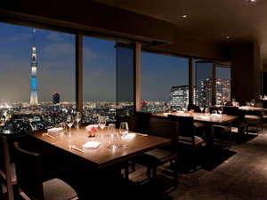 東武ホテルレバント東京:スカイツリビューレストラン&バー『簾』