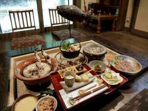 1日1組限定の古民家宿 こころの里 懐:創作薬膳料理夕食