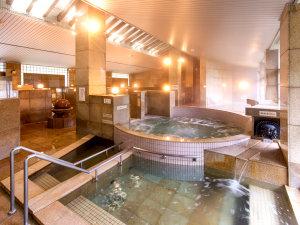 しきぶ温泉湯楽里:大浴場