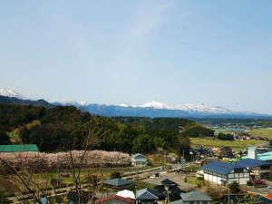 せきがね温泉 湯楽里:風景(国立公園大山)