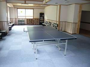 スパビレッジ カマヤ:多目的ホールの卓球台