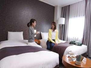 ホテルキャッスル(山形):[エグゼクティブツイン]女性同士の旅行で楽しい思い出を