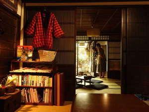 ゲストハウス 太鼓屋:縁側