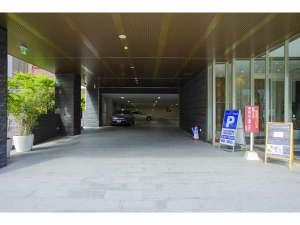 ◆駐車場 駐車場は、ホテル正面からお入りください