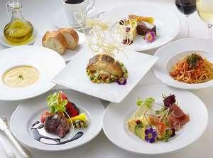 ホテルマリターレ創世 佐賀:レストランのディナーコース