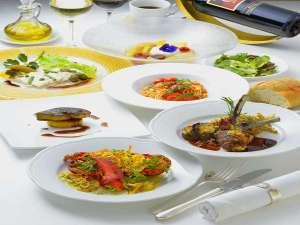 ホテルマリターレ創世 佐賀:シェフおまかせのディナーコース