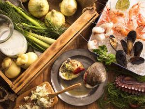 ザ レイクビュー TOYA 乃の風リゾート :【6~8月限定・夕食ブッフェ】北海道が育んだ海と大地の恵みをブッフェで贅沢にお楽しみ下さい!