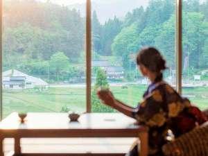 奥出雲 美肌温泉郷 亀嵩温泉 玉峰山荘:自然豊かな風景と、ゆったりとした時の流れ・・