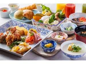 三井ガーデンホテル大阪プレミア:【楽しみになる朝食】1日の始まりを素敵な朝から始めるために。豊富な品揃えでご用意しております。