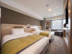 アルモントホテル仙台:ツインルーム 20㎡ ベット幅120㎝