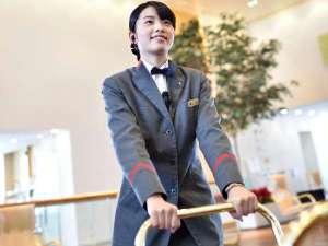 ホテル日航新潟:お困りの際は、お気軽にベルスタッフにお声掛けを!