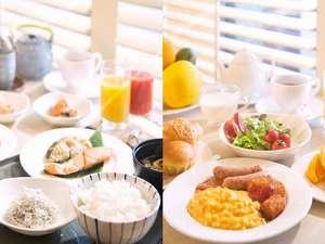 ホテルセンチュリー静岡:大好評!!静岡の食材を豊富に使用した和洋の朝食ブッフェ。