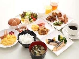 ホテルサンシャインいわき:シェフの手作り朝ごはん♪玉子料理はお客様のお好みでお作りします!