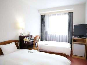 ホテルサンシャインいわき:ベッドが2つのツインルーム!お友達との旅行にもオススメのお部屋です♪