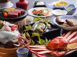 皆生温泉 芙蓉別館:【夕食一例】山陰のうまいところを贅沢に!