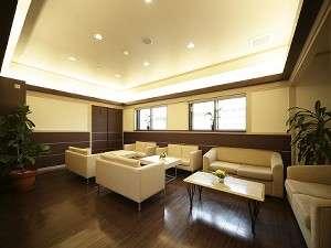 ホテルサンプラザ倉敷:落ち着いた雰囲気のロビーでごゆっくり♪♪