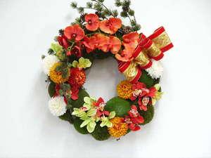 【お正月】華やかな飾りでお出迎え。