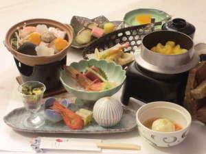 くっちゃん温泉 ホテルようてい:夕食一例