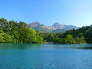 五色沼/裏磐梯エリア。五色沼は実にさまざまな青色を見せてくれます。
