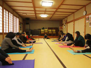 民宿旅館 二宮荘:◆毎月開催!ヨガ湯治◆