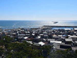オーシャンビュー大洗:全室オーシャンビューです。青く輝く太平洋を一望いただけます