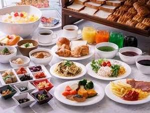 朝食ブッフェ定番メニューから京都ご当地メニューまで多彩にご用意しております