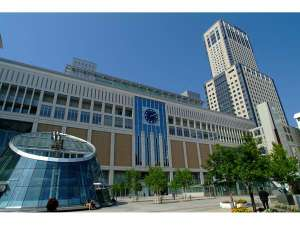 札幌駅♪ 当館から歩いて徒歩5分ほど