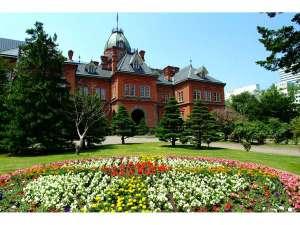 北海道庁旧本庁舎♪ (赤レンガ)♪ 当館から歩いて10分ほど