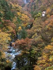 名剣温泉:黒部峡谷鉄道終点駅にある日本の秘湯