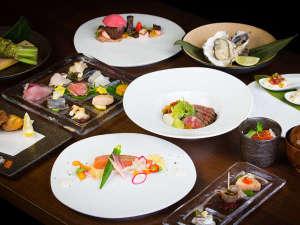 木ニセコ:ご夕食は旬の食材を使用したコースメニュー♪