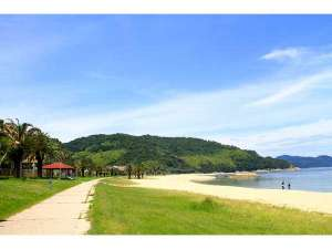 ありが島 海の家:片添ヶ浜