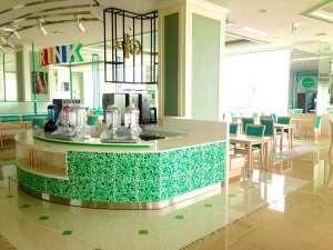 知床第一ホテル:4月末のオープンした朝食専用レストラン
