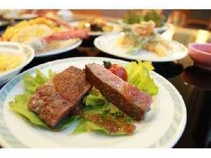 知床第一ホテル:夕食バイキング一例