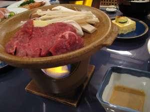 ペンション リバティハウス:ディナー 肉料理