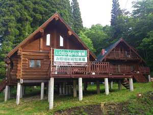 LCBひるがの高原:新緑につつまれ森林浴を満喫☆ウッドデッキで過ごす贅沢な別荘気分を存分に☆(外観)