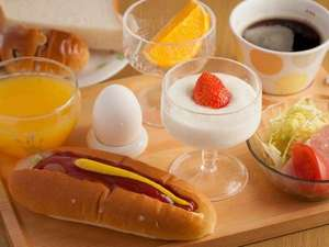 『朝食』はウォーミングアップ!