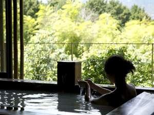 客室専用の露天風呂
