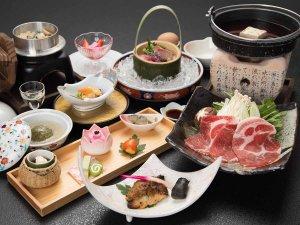 *【夕食一例】和豚もち豚コース