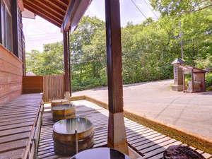 大釜温泉:*足湯/のんびり田園風景を眺めながら足元はポッカポカ!
