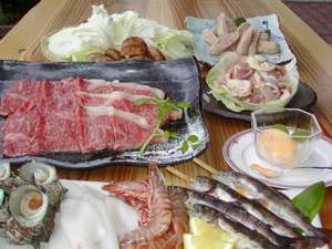 レストラン&スモールイン カッセル:涼しい野外での但馬牛ミックスBBQに大満足!
