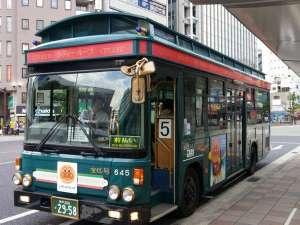 観光地を巡るループバス
