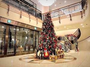 ホテルベルクラシック東京:2018年 クリスマスツリー