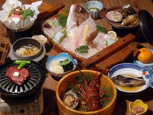 魚の栖(すみか)  網元 丸仙:人気NO.1伊勢志摩ブランド食い尽くしプラン♪伊勢海老とあわびの料理方法が選べるよ!