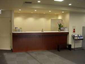 潮来ステーションホテル:フロント