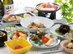 大沢温泉 山水閣:夏のお料理 イメージ