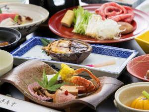 千二百年の湯めぐり 大沢温泉 「山水閣」:秋のお料理イメージ
