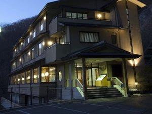 帝釈峡観光ホテル錦彩館 外観