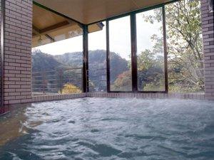 帝釈峡観光ホテル錦彩館:大浴場でごゆっくりお寛ぎください
