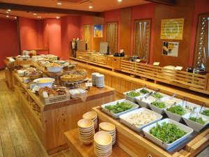 高知パレスホテル:朝から元気いっぱい、たくさん食べてくださいね